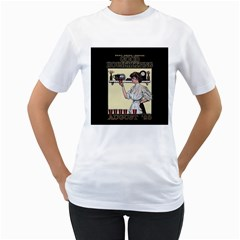Good Housekeeping Women s T Shirt (white) (two Sided)