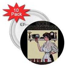 Good Housekeeping 2 25  Buttons (10 Pack)
