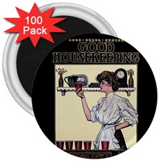 Good Housekeeping 3  Magnets (100 Pack)