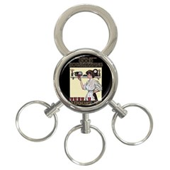 Good Housekeeping 3 Ring Key Chains