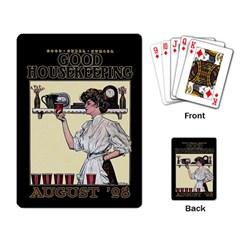 Good Housekeeping Playing Card
