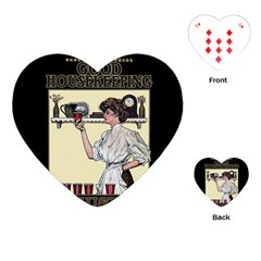 Good Housekeeping Playing Cards (heart)