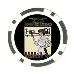 Good Housekeeping Poker Chip Card Guard