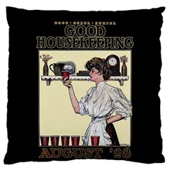Good Housekeeping Standard Flano Cushion Case (two Sides)