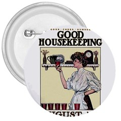 Good Housekeeping 3  Buttons