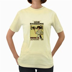 Good Housekeeping Women s Yellow T Shirt