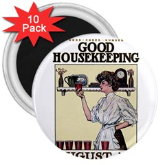 Good Housekeeping 3  Magnets (10 Pack)