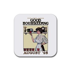 Good Housekeeping Rubber Square Coaster (4 Pack)