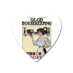 Good Housekeeping Heart Magnet