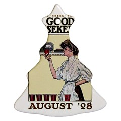 Good Housekeeping Christmas Tree Ornament (two Sides)