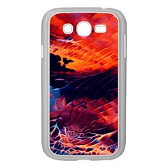 Abstract Acryl Art Samsung Galaxy Grand Duos I9082 Case (white)
