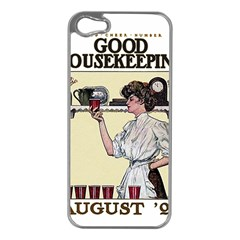 Good Housekeeping Apple Iphone 5 Case (silver)