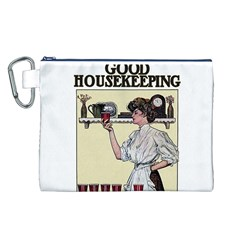 Good Housekeeping Canvas Cosmetic Bag (l)