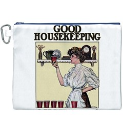 Good Housekeeping Canvas Cosmetic Bag (xxxl)