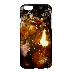 Wonderful Horse In Watercolors Apple Iphone 6 Plus/6s Plus Hardshell Case