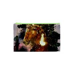 Wonderful Horse In Watercolors Cosmetic Bag (xs)