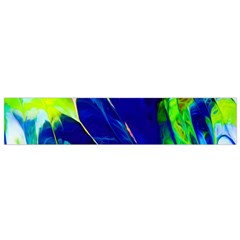 Abstract Acryl Art Small Velour Scarf