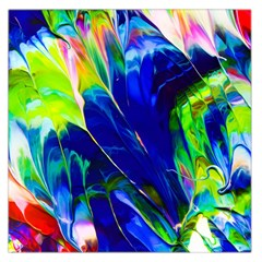 Abstract Acryl Art Large Satin Scarf (square)
