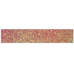 Rose Gold Sparkly Glitter Texture Pattern Large Velour Scarf