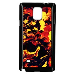 Abstract Acryl Art Samsung Galaxy Note 4 Case (black)