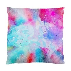 Pink And Purple Galaxy Watercolor Background  Standard Cushion Case (two Sides)