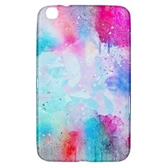 Pink And Purple Galaxy Watercolor Background  Samsung Galaxy Tab 3 (8 ) T3100 Hardshell Case