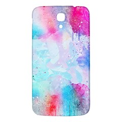 Pink And Purple Galaxy Watercolor Background  Samsung Galaxy Mega I9200 Hardshell Back Case