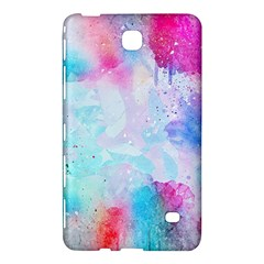 Pink And Purple Galaxy Watercolor Background  Samsung Galaxy Tab 4 (8 ) Hardshell Case