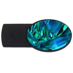 Abstract Acryl Art Usb Flash Drive Oval (2 Gb)