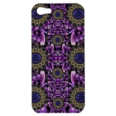 Flowers From Paradise In Fantasy Elegante Apple Iphone 5 Hardshell Case