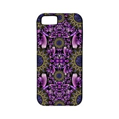 Flowers From Paradise In Fantasy Elegante Apple Iphone 5 Classic Hardshell Case (pc+silicone)