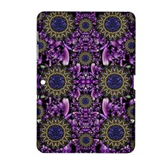 Flowers From Paradise In Fantasy Elegante Samsung Galaxy Tab 2 (10 1 ) P5100 Hardshell Case