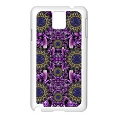 Flowers From Paradise In Fantasy Elegante Samsung Galaxy Note 3 N9005 Case (white)