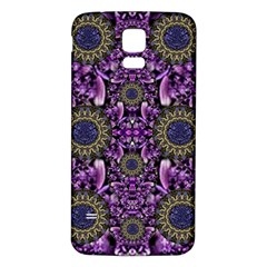 Flowers From Paradise In Fantasy Elegante Samsung Galaxy S5 Back Case (white)
