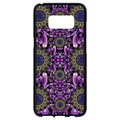 Flowers From Paradise In Fantasy Elegante Samsung Galaxy S8 Black Seamless Case