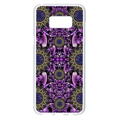 Flowers From Paradise In Fantasy Elegante Samsung Galaxy S8 Plus White Seamless Case