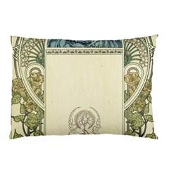 Art Nouveau Pillow Case (two Sides)