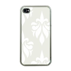 Fleur De Lis Apple Iphone 4 Case (clear)
