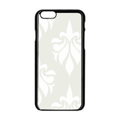 Fleur De Lis Apple Iphone 6/6s Black Enamel Case