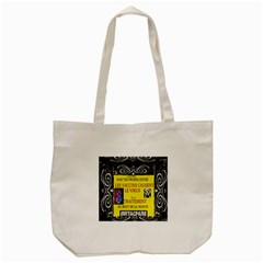 Vaccine  Story Mrtacpans Tote Bag (cream)