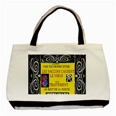 Vaccine  Story Mrtacpans Basic Tote Bag (two Sides)
