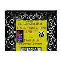 Vaccine  Story Mrtacpans Cosmetic Bag (xl)
