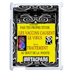 Vaccine  Story Mrtacpans Apple iPad 2 Case (White) Front