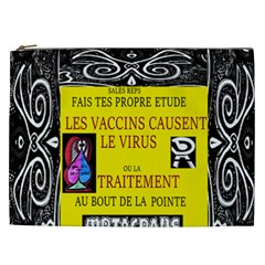 Vaccine  Story Mrtacpans Cosmetic Bag (xxl)
