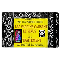 Vaccine  Story Mrtacpans Apple Ipad 3/4 Flip Case