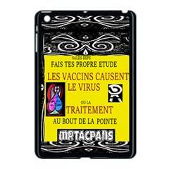 Vaccine  Story Mrtacpans Apple Ipad Mini Case (black)