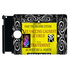 Vaccine  Story Mrtacpans Apple Ipad 3/4 Flip 360 Case