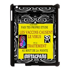 Vaccine  Story Mrtacpans Apple Ipad 3/4 Case (black)