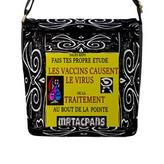 Vaccine  Story Mrtacpans Flap Messenger Bag (l)