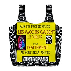 Vaccine  Story Mrtacpans Full Print Recycle Bags (l)